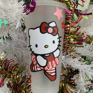 Hello Kitty Ballerina Starbucks Cup